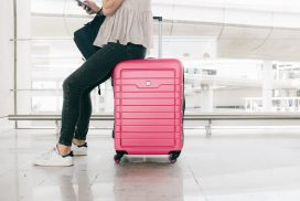 bright luggage make it easier to find at international airports