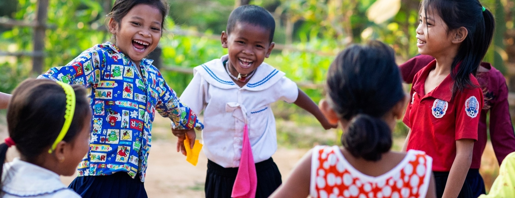 UK charity helping children abroad