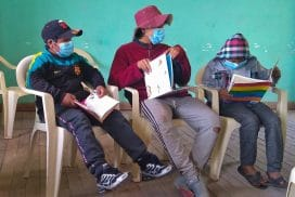 bridging the education gap in Cusco Peru with a mobile library project